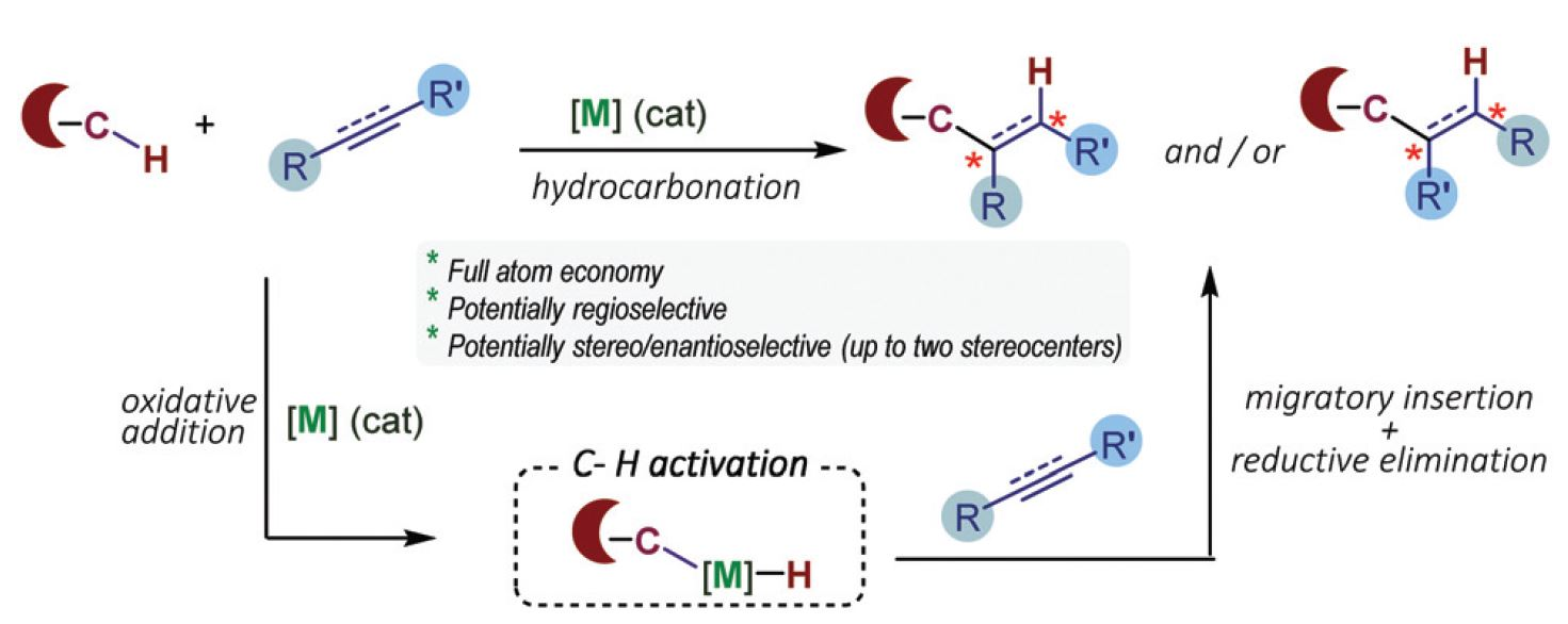Catalytic addition of C–H bonds across C–C unsaturated systems promoted by iridium(i) and its group IX congeners