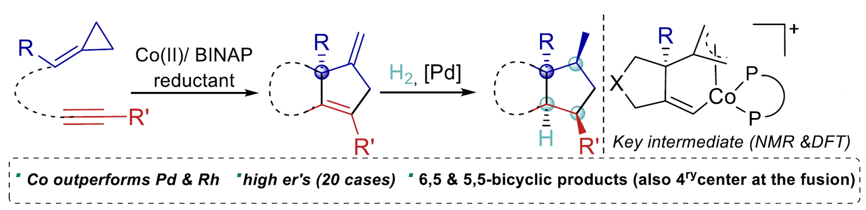 Highly Enantioselective Cobalt‐Catalyzed (3 + 2) Cycloadditions of Alkynylidenecyclopropanes